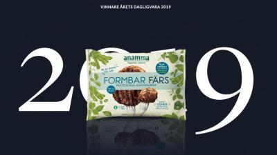 Eslövsproducerad vegofärs vann Årets Dagligvara 2019!