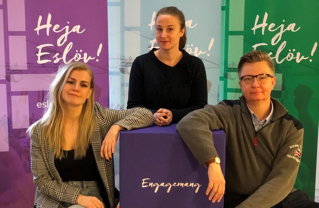 Anbudsskolan hålls av Aida Kulic och Emmy Bruhn, inköps- och upphandlingsenheten, Eslövs kommun och Lars Persson, näringslivschef i Eslövs kommun.