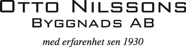 Otto Nilssons Byggnads AB