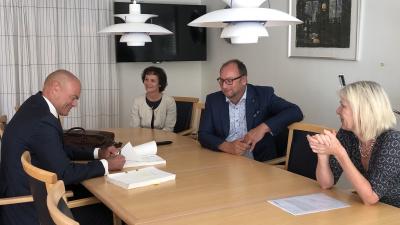 Avtal undertecknat om Stena Recyclings flytt