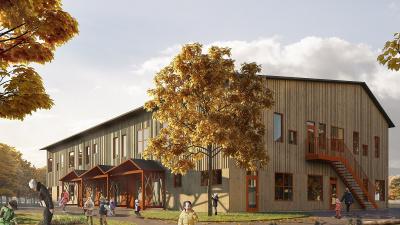 Ny förskola i Sallerup, Eslöv