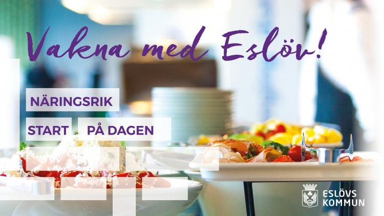 Vakna med Eslöv – digital näringslivsfrukost 25 augusti kl. 8–9