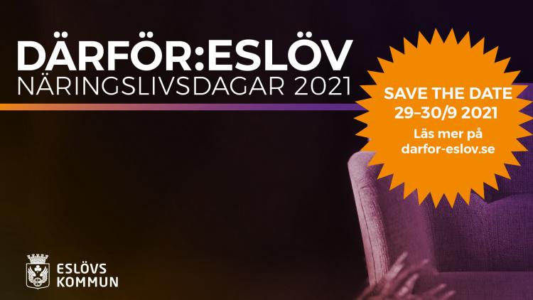 Därför:Eslöv, 2021 års näringslivsdagar